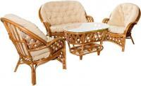 Комплекты мебели из натурального ротанга