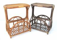 Столы и газетницы из натурального ротанга
