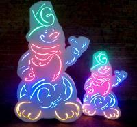 Светящиеся фигуры
